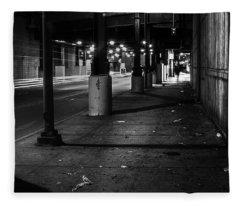 Urban Underground Fleece Blanket