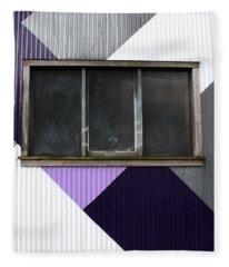Urban Window- Photography Fleece Blanket
