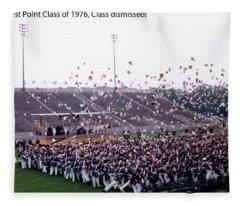 Usma Class Of 1976 Fleece Blanket