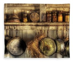 Utensils - Old Country Kitchen Fleece Blanket