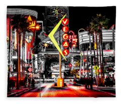 Vegas Nights Fleece Blanket