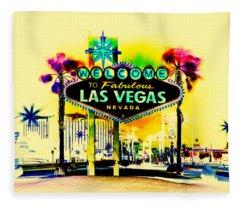 Vegas Weekends Fleece Blanket