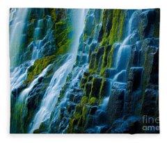 Veiled Wall Fleece Blanket