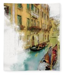 Venice 1 Fleece Blanket