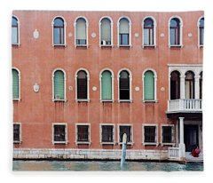 Venice Apartment Fleece Blanket
