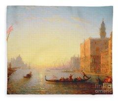 Venice Evening Fleece Blanket