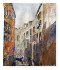Venice Travelling Fleece Blanket