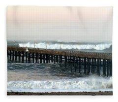 Ventura Storm Pier Fleece Blanket