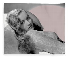 Veronica Lake Publicity Photo C.1942-2010 Fleece Blanket