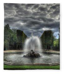 Versailles Fountain Fleece Blanket