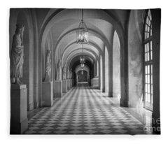 Versailles Hallway Fleece Blanket