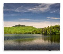 Vibrant Chocorua Fleece Blanket