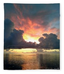 Vibrant Skies 2 Fleece Blanket