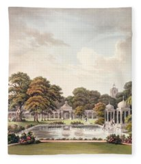 View From The Dome, Brighton Pavilion Fleece Blanket