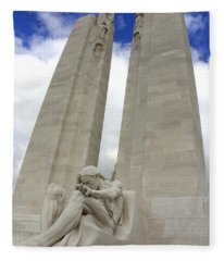 Vimy Ridge Memorial France Fleece Blanket