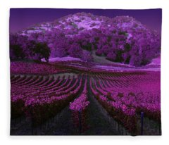 Vineyard 41 Fleece Blanket