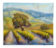 Vineyard Gold Fleece Blanket