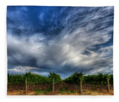 Vineyard Storm Fleece Blanket