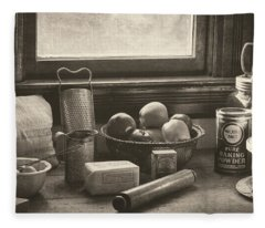 Vintage Art - All The Fixings Fleece Blanket