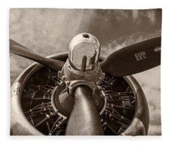 Air Transportation Fleece Blankets