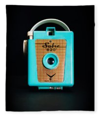 Vintage Sabre 620 Camera Fleece Blanket