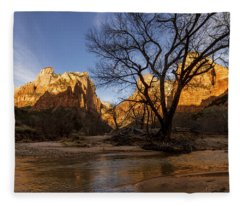 Zion National Park Fleece Blankets