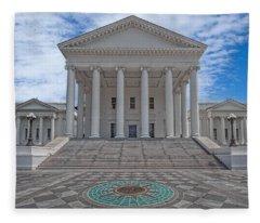 Virginia Capitol Fleece Blanket