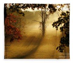 Virginia Sunrise Fleece Blanket