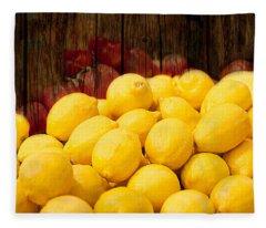 Vitamin C Fleece Blanket