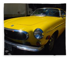 Volvo P1800es Fleece Blanket