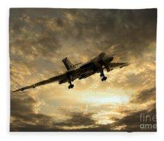 Vulcan Cometh Fleece Blanket