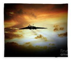 Vulcan Fire  Fleece Blanket