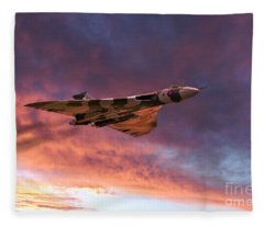 Vulcan Glory  Fleece Blanket