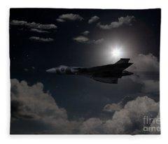 Vulcan Moon  Fleece Blanket