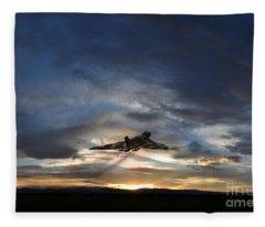 Vulcan Take Off Fleece Blanket