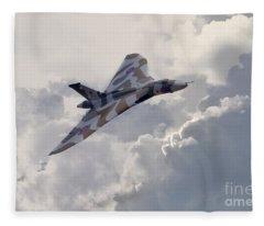 Vulcan Topside  Fleece Blanket
