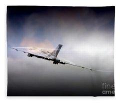 Vulcan Vapour  Fleece Blanket