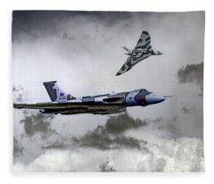 Vulcan Wingman Fleece Blanket