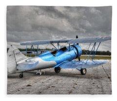 Waco 2 Fleece Blanket