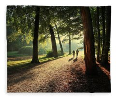 Walk Fleece Blanket