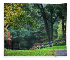 Walk In The Park Fleece Blanket