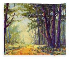 Walk In The Woods 5 Fleece Blanket