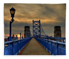 Walk With Me Fleece Blanket