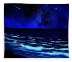Wall Mural Bali Hai Tunnels Beach Kauai Fleece Blanket