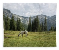 Wallowas - No. 2 Fleece Blanket