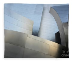Walt Disney Concert Hall 1 Fleece Blanket