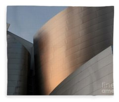 Walt Disney Concert Hall 15 Fleece Blanket
