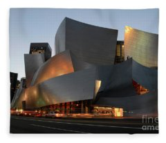 Walt Disney Concert Hall 21 Fleece Blanket