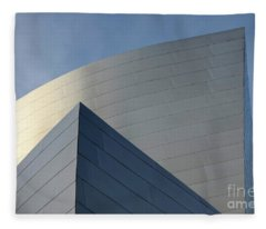 Walt Disney Concert Hall 3 Fleece Blanket