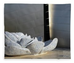 Walt Disney Concert Hall 8 Fleece Blanket